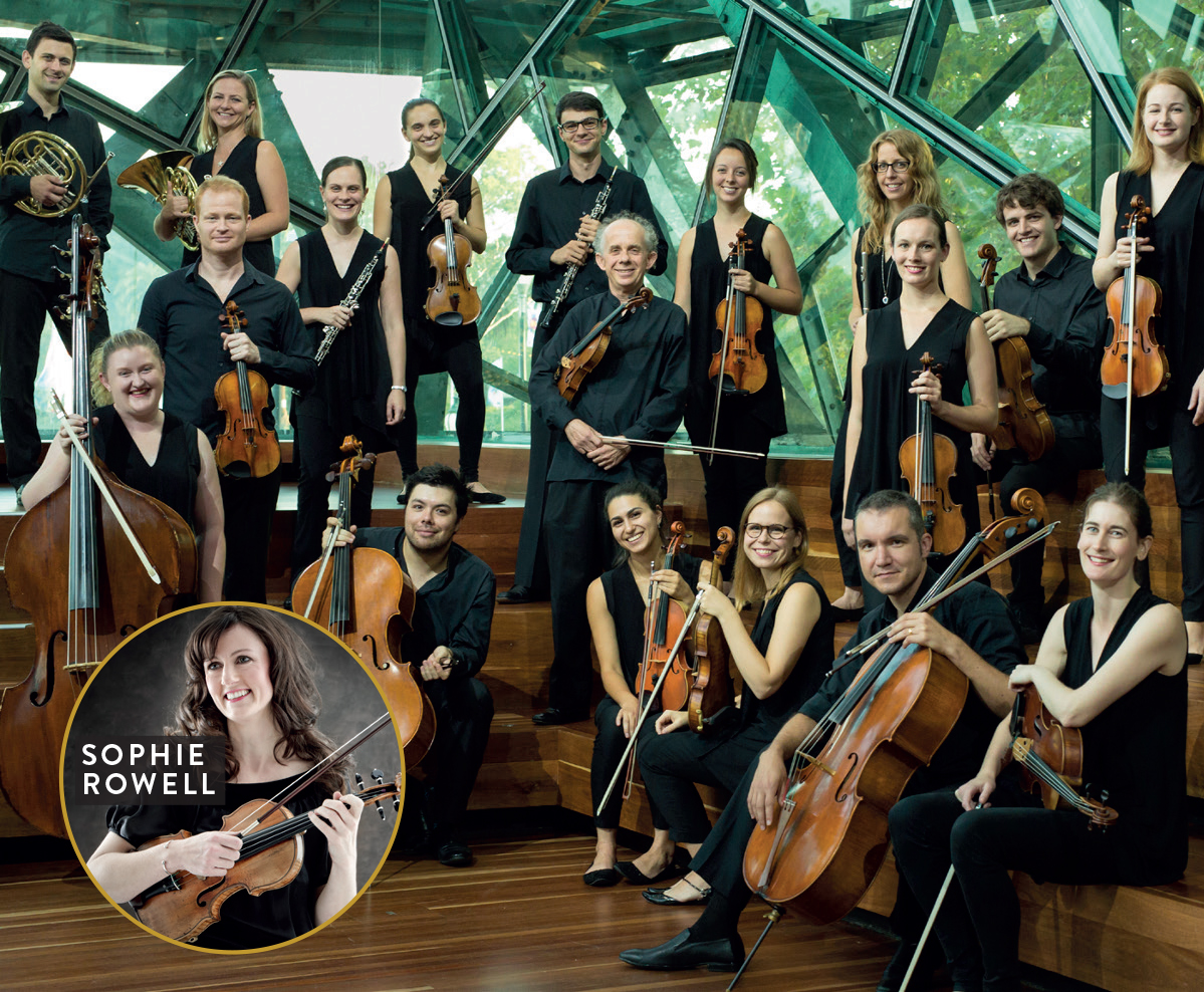 MELBOURNE CHAMBER ORCHESTRA with SOPHIE ROWELL